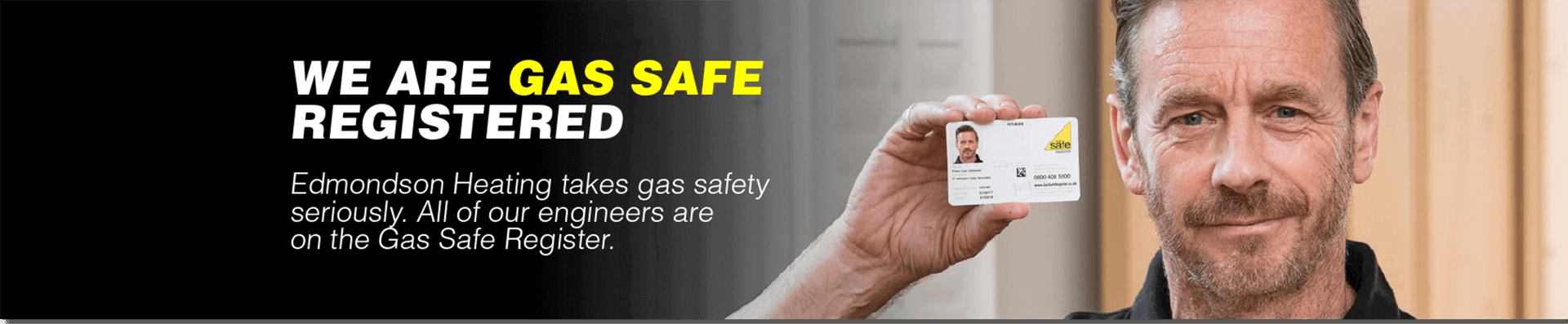 Gas Safe Edmondson Heating Upminster